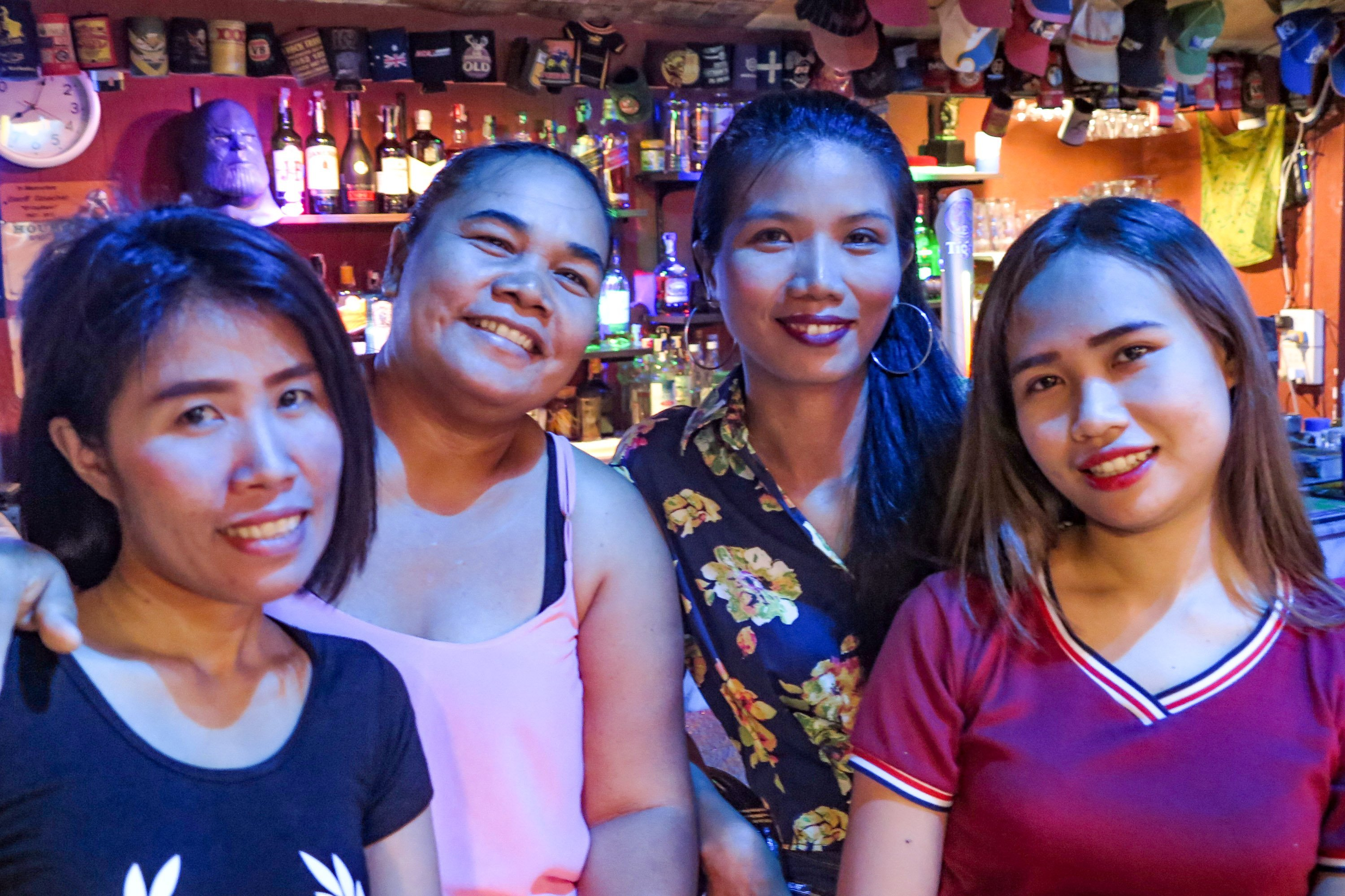 Walkabout Sports Bar Staff Old & New